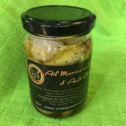 AIL MARINÉ au vinaigre «AULX GLACÉS» (100 g)