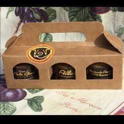 BARQUETTE AMUSE - BOUCHE 3 Pots de 35 g à base d'ail noir