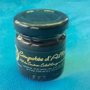 COMPOTÉE d'AIL NOIR des terroirs du Sud-Ouest (35 g) (100% naturel)