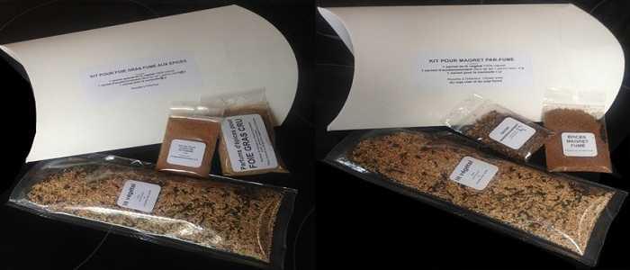 Parfums d'Épices – Kits maxi pour Fumaison – SERIE 1000