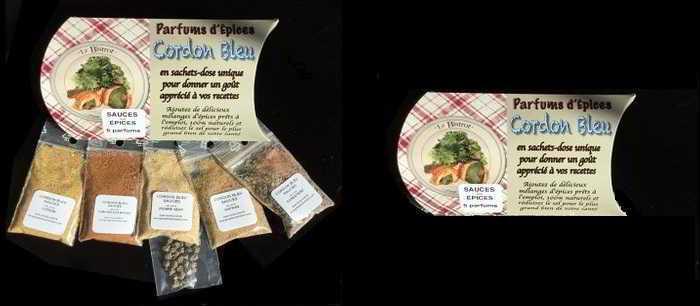 Parfums d'Épices -CORDON BLEU – SERIE 70 – Pour Sauces et Aïl noir