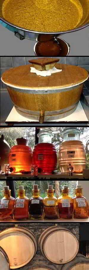 Processus de fabrication des Parfums de vinaigre