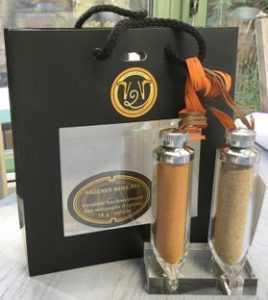 SALIÈRE SANSEL mélanges 5 épices caviar pourpre-esprit et de Provence ou sels fous