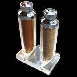 SANSEL® n°1 : SALIÈRES «tubes de gouache» – SÉRIE «CAVIAR POURPRE» et «ESPRIT DE PROVENCE» – sans sel
