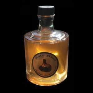"""Parfum de Vinaigre """"AULX NOIRS"""" au pur jus d'Ail Marron Glacé, de 5° saveur"""